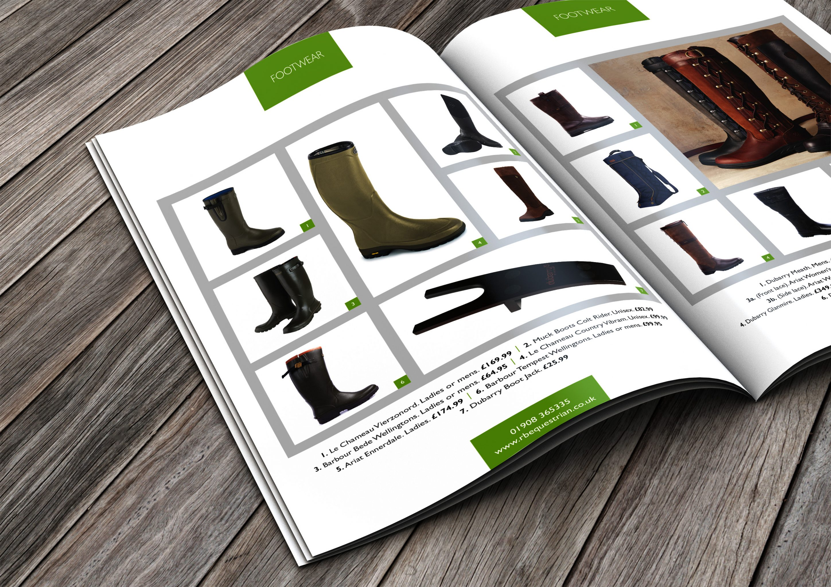 RB Equestrian catalogue