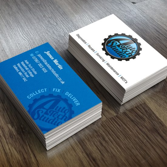 Auto Tech Studio business card