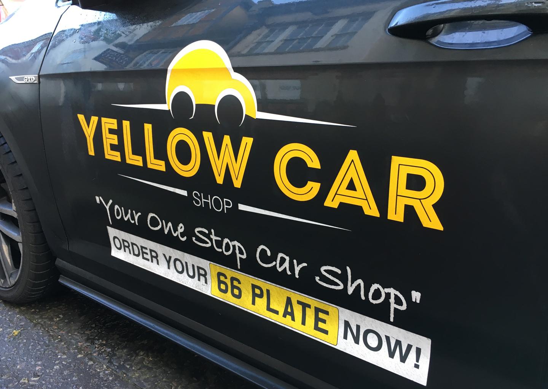 Yellow Car Shop logo