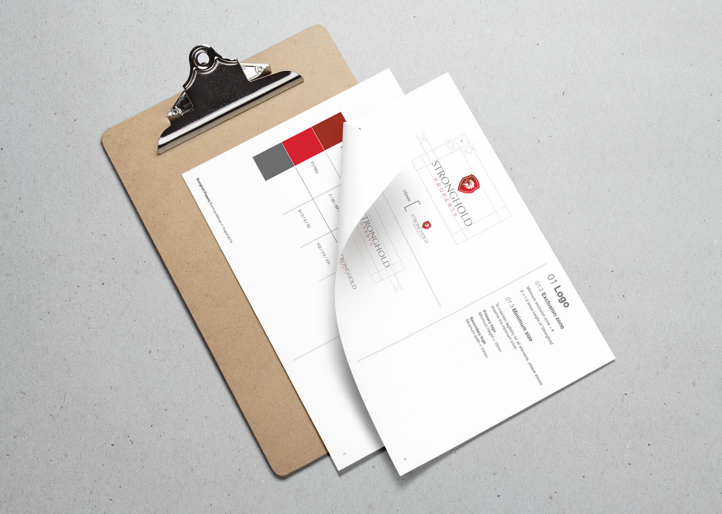 Stronghold Property brand guidelines