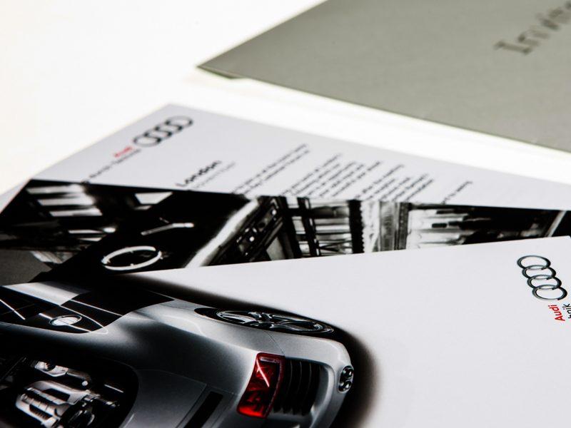Audi invitation