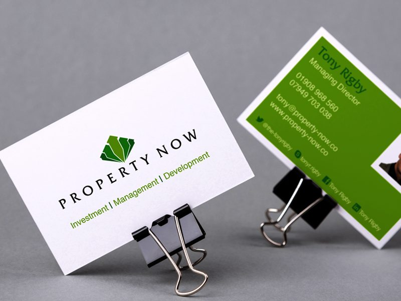 Property Now business cards