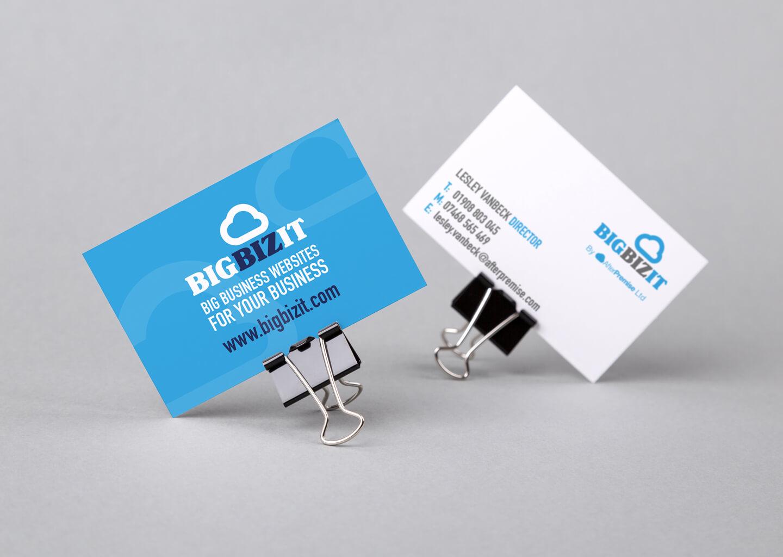 BigBizIT rebrand business card