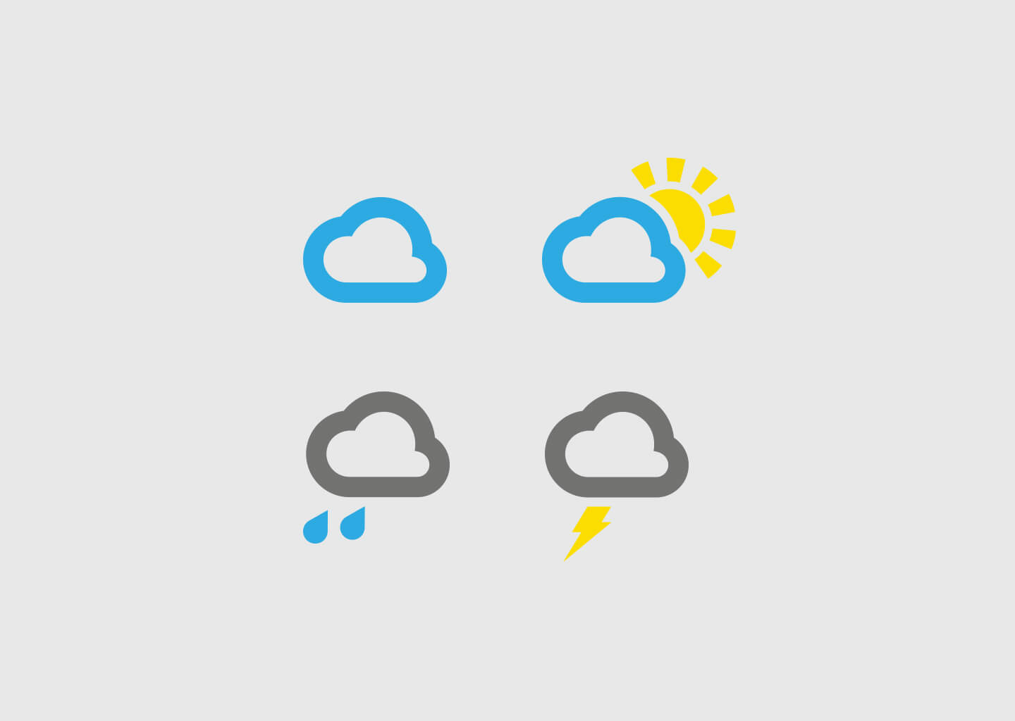 Icons for BigBizIT rebrand