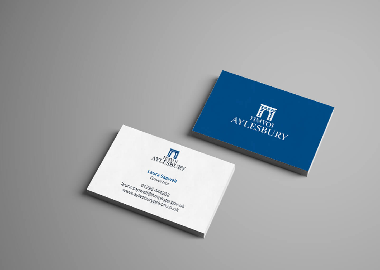 Aylesbury Prison business cards