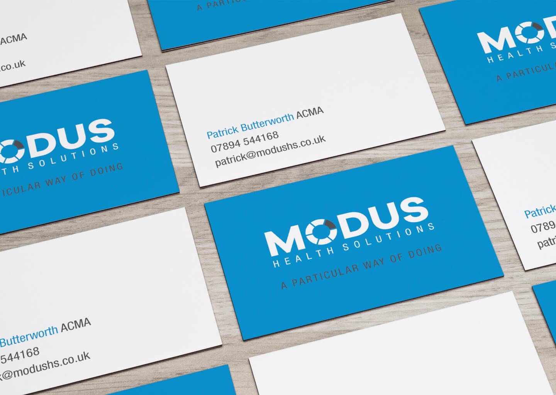 Modus business cards