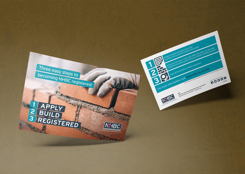 NHBC campaign branding